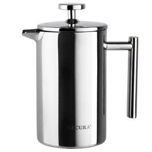 Secura SFP-17DS Stainless Steel French Press Coffee Maker